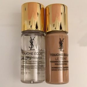 YSL TOUCHÉ ECLAT PRIMER AND FOUNDATION NEW IN BOX